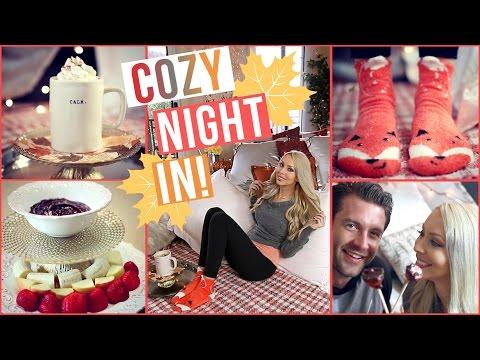 DIY Cozy Night In ♥ Snacks, Decor, Activities!