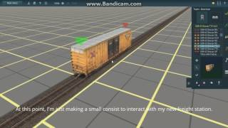 Trainz: A New Era Tutorial - How To Create Your Own Working Freight Station