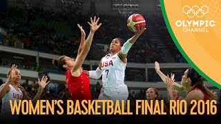 USA 🆚 Spain - Women's Basketball Gold Medal Match   Rio 2016 Replays