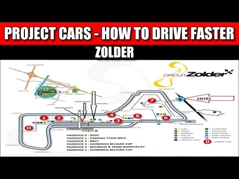 Project CARS: How to Drive Faster - Zolder - Braking Points