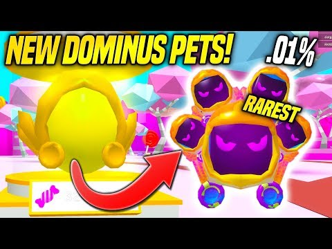 NEW* DOMINUS EGG AND SWEET ISLAND IN BUBBLE GUM SIMULATOR