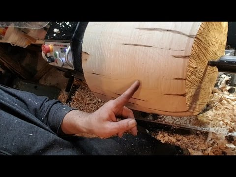 Woodturning Fail : Ambrosia Lamp Shade