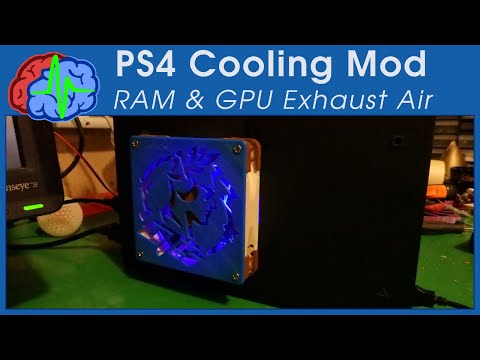 PS4 Cooling mod for UTS Team ;)