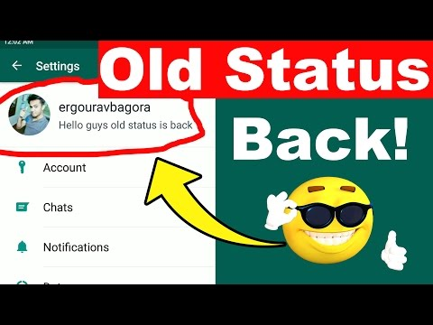 How to get Old WhatsApp Status BACK | WhatsApp Rolls Back Old Status Feature !