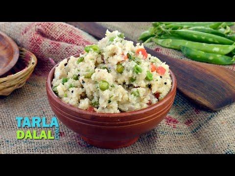 वेजिटेबल उपमा (Vegetable Upma) by Tarla Dalal