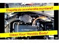 Curatare clapeta de acceleratie Corsa C 2001 -- How to clean the throttle body easy and fast!