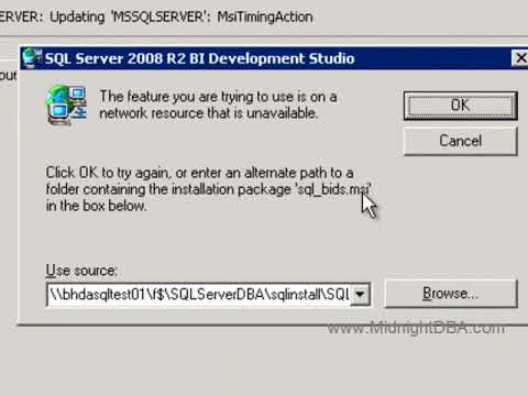 Uninstall a CU in SQL Server 2008 R2