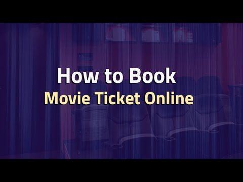 Book Movie tickets Online | How to Book Movie ticket online in India