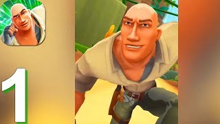 Jumanji: Epic Run - Gameplay Walkthrough Part 1 The Jungle (Android, iOS)