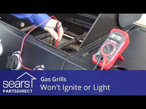 Gas Grill Won't Ignite or Light