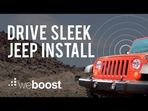Drive Sleek Install on a Jeep | weBoost