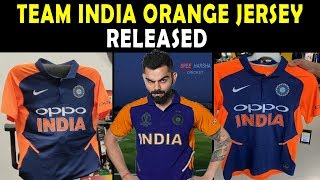 Team India new ORANGE JERSEY released | India vs England 2019 | ICC World Cup 2019