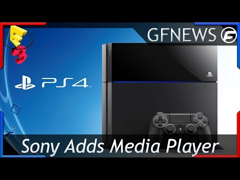 PlayStation 4 Player's can now Download Media Player E3 2015
