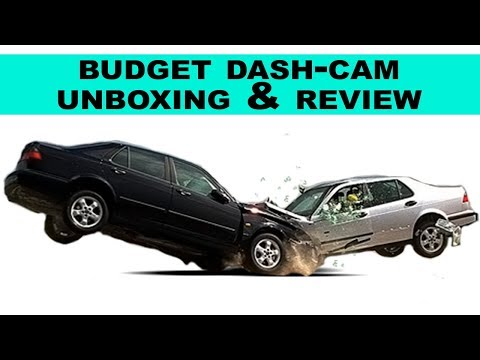 Budget Dash Camera Unboxing and Review