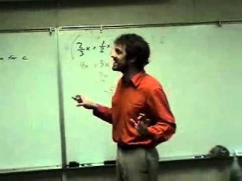 The Teacher That Liked Math A Little Too Much - Algebra Man