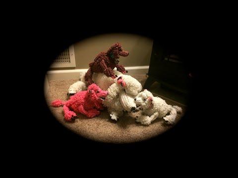 Part 3/6 Rainbow Loom Diva/Diamond Poodle (3 Looms)