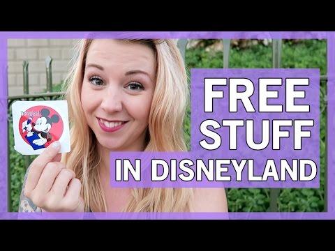 How to get FREE stuff at Disneyland   Thingamavlogs