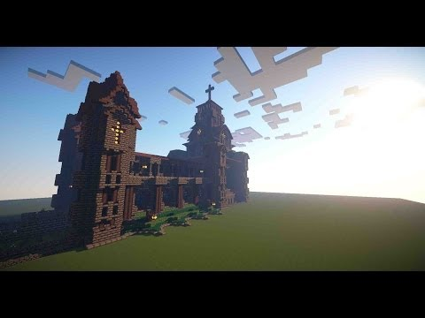 Minecraft Medieval Cathedral