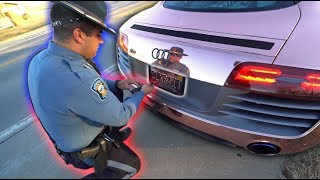 PULLED OVER IN MY SUPERCAR AND THIS HAPPENED... *WTF*