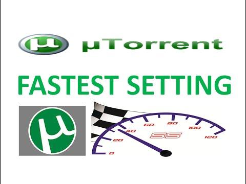 utorrent Setting For Fastest Downloading - Updated 2015