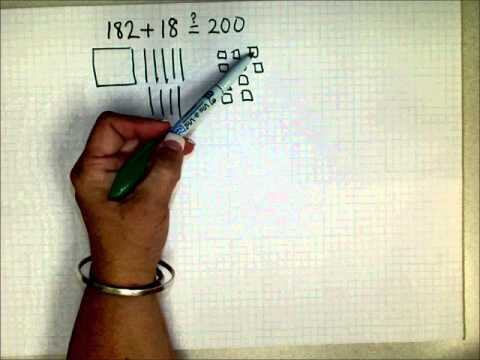 SCC Math 205 Model Base 10 Addition By Drawing