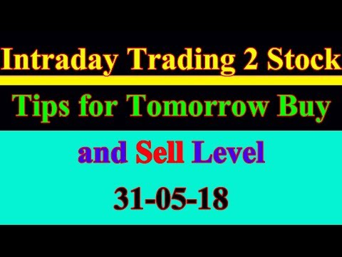 Intraday trading stock tips for tomorrow # Strong level in hindi | 31-05-18