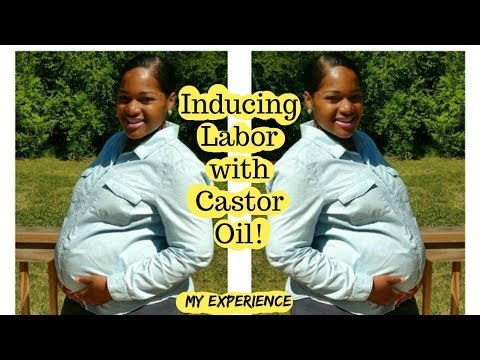 Inducing Labor with Castor Oil! My Experience!
