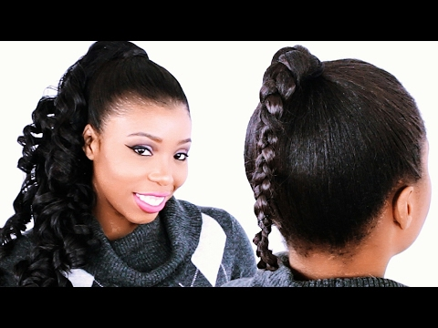 How To: INVISIBLE PONYTAIL