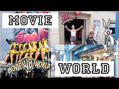 Movie World   Gold Coast, Australia - Nicola's Travel Vlog #12