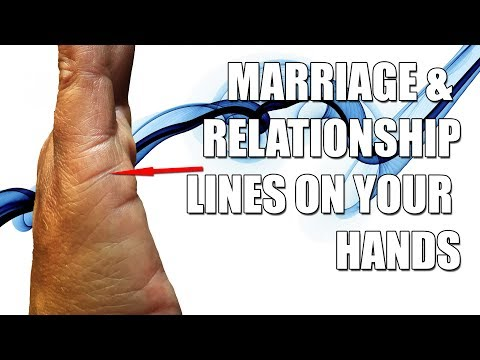 Marriage & Relationship Lines on your Hands