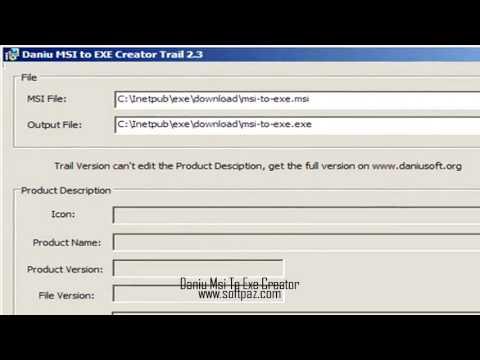 Daniu Msi To Exe Creator [Windows] Download Link [FREE]