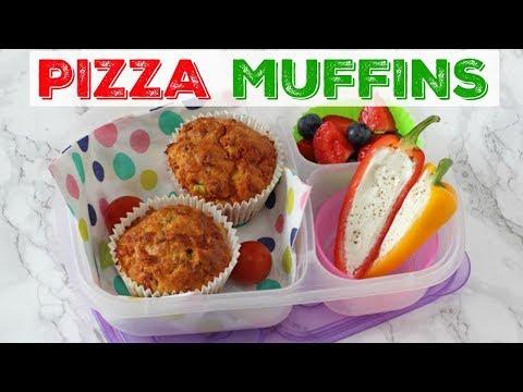 Pizza Muffins | Lunchbox Recipe