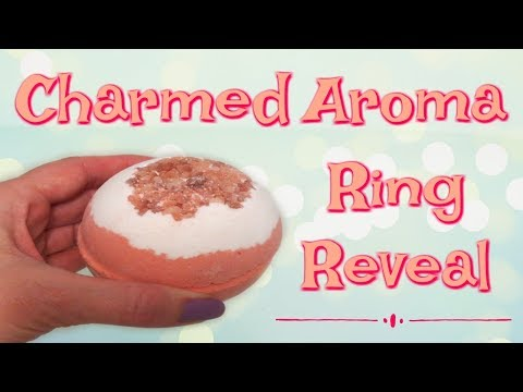 Charmed Aroma Ring Reveal - Tangerine Dream Bath Bomb!