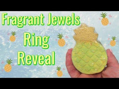 Fragrant Jewels Ring Reveal - Oahu Aloha Bath Bomb!