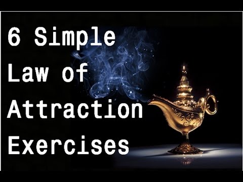 6 Law of Attraction Exercises to Increase Your Manifestation Power