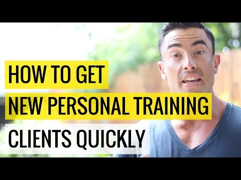 How To Get New Personal Training Clients Quickly |  Chris Dufey