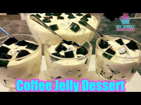 Coffee Jelly Dessert