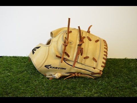 Easton EPG10WB SS Baseball Glove Relace - Before and After Glove Repair