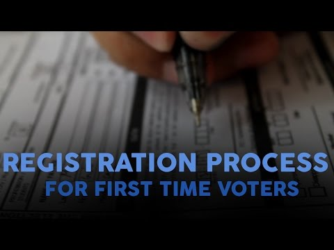 Registration Process to COMELEC for First Time Voters