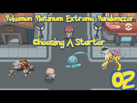 Pokemon Platinum Extreme Randomizer Episode 2 - Choosing Our Starter