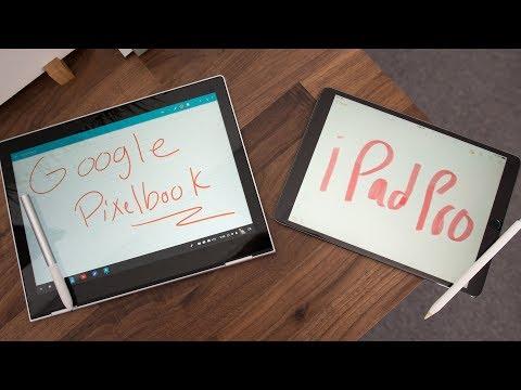 Apple's iPad Pro vs Google's Pixelbook