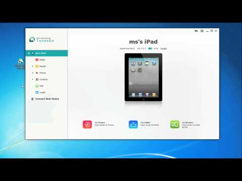 Transfer MP3 to iPad without iTunes Sync