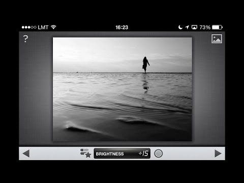 Snapseed iPhone Photo Editing Tutorial: B&W and Tilt Shift