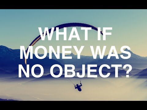 What If Money Was No Object? - Alan Watts