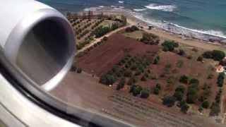 Thomson 737-800 Landing at Paphos International Airport