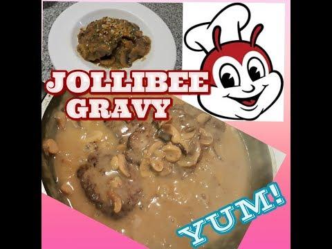 The best JOLLIBEE Gravy with mushroon recipe | Canada | Pinay Peg