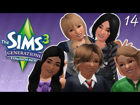 The Sims 3: Generations | Part 14 - TEEN ANGST & PROM PREP!