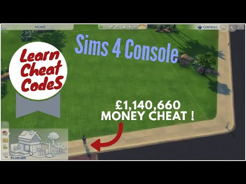 Sims 4 Console cheat code / money cheat on Xbox One/PS4