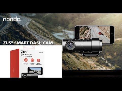 nonda ZUS Smart Dash Cam / Camera HD 1080P Video 140 Wide Angle