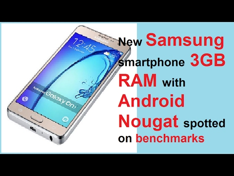 New Samsung smartphone with 3GB RAM with Android Nougat spotted on benchmarks
